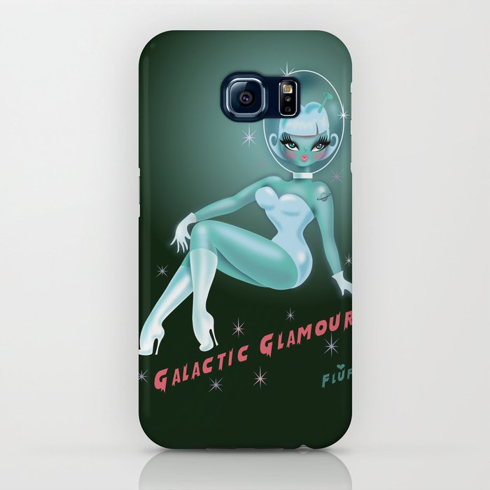 Galactic Glamour iPhone Case