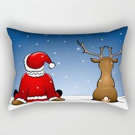 waiting for christmas Rectangular Pillow