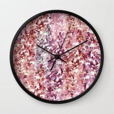 Acacia Wall Clock