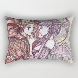 Devil & Jester Rectangular Pillow