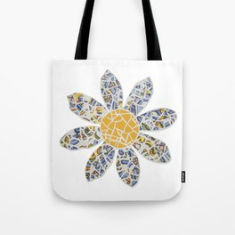 Mosaic Flower 002 Tote Bag
