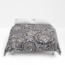 Year of the Snake mosaic Comforters