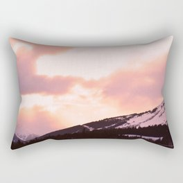 Rose Quartz Turbulence - II Rectangular Pillow