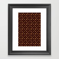 Wizard couture Framed Art Print