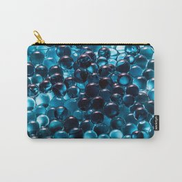 Blue hydrogel Carry-All Pouch