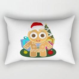 Christmas - Ginger Bread Man Rectangular Pillow