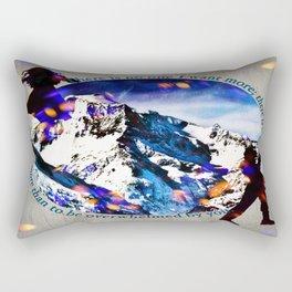 Nina and Matthias - Overwhelm Me Rectangular Pillow