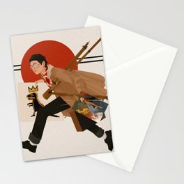 V X Basquiat Stationery Cards