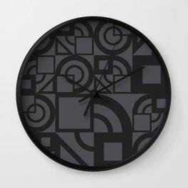 Bauhaus 39 Petrol Grey ed. Wall Clock