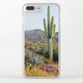 Spring in the Desert Clear iPhone Case