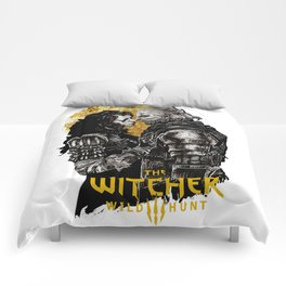 Geralt and Yennefer Comforters