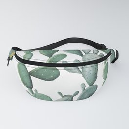 Cactus Bunch Green Fanny Pack
