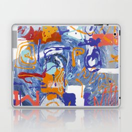 Shamanic Painting 01 Laptop & iPad Skin
