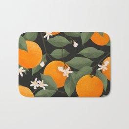 fresh citrus // dark Bath Mat