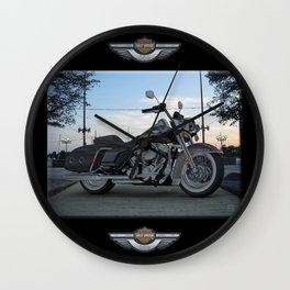 Harley Road King in #3dsmax My design Wall Clock