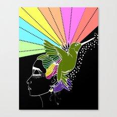 pies.. para qué los quiero si tengo alas para volar? Canvas Print