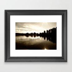 Loch Lomond Sunshine Framed Art Print