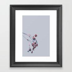Fill the void with flower Framed Art Print