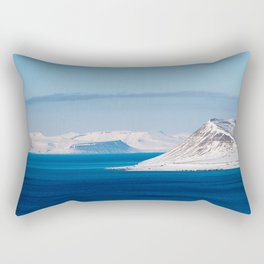 Svalbard Norway Polar Arctic Landscape Rectangular Pillow