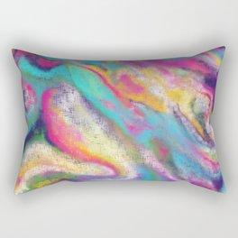 magic will happen (abstract art) Rectangular Pillow