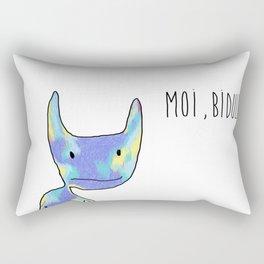 Moi, Bidule - I Rectangular Pillow