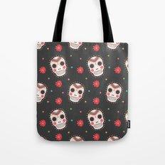 The Sugar Skull Pattern Tote Bag