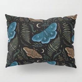 Moths and Ferns Pillow Sham