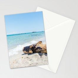 Seacoast of Adriatic Sea in Salento Italy Stationery Cards