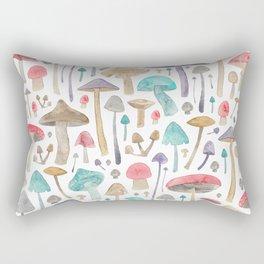 Toadstools and Mushrooms Rectangular Pillow