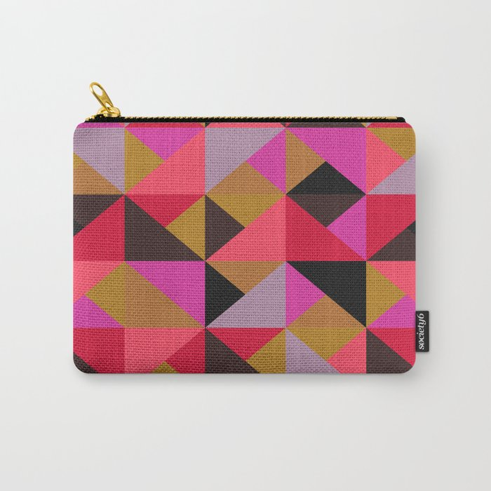 colour + pattern 19 Carry-All Pouch