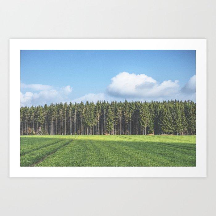 Odenwald Art Print