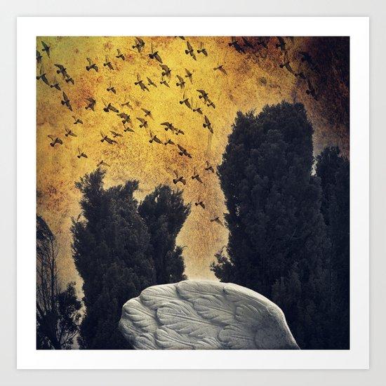 Wings - a fantasy Art Print