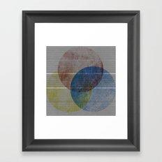 Trianglr Framed Art Print
