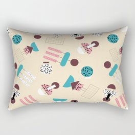 geometric 4 Rectangular Pillow