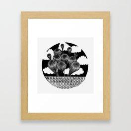 "Inktober, Day 17 ""Swollen"" #inktober #inktober2018 Framed Art Print"