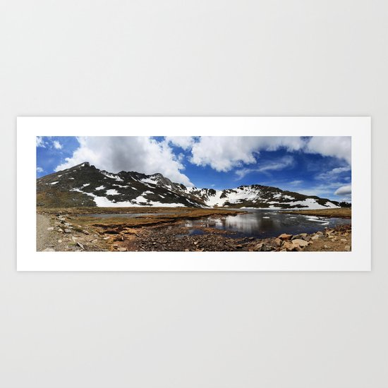 Mt. Evans, Colorado Art Print