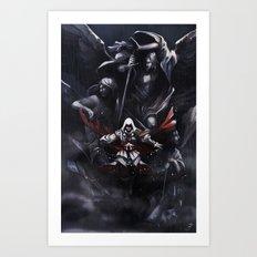 l'angelo della morte Art Print
