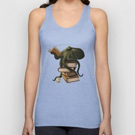 Well-Read Octopus Unisex Tanktop