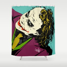 Joker So Serious Shower Curtain