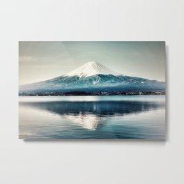 Mt Fuji, Japan Metal Print