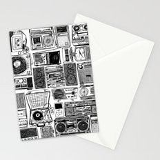 Music Boxes Stationery Cards