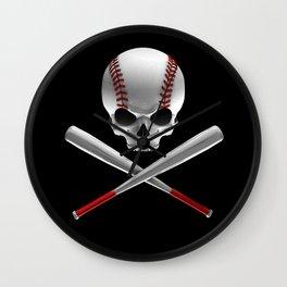 Phantom Ballplayer Wall Clock