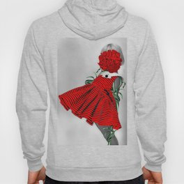 RED CARNATION Hoody