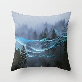 Whale Music Throw Pillow