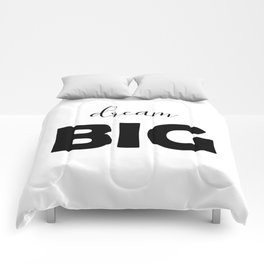 Dream Big Comforters