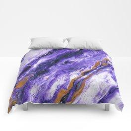 Chevron Amethyst 2 Comforters