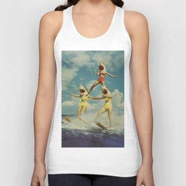 On Evil Beach - Sharks Unisex Tank Top