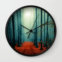 Landscape (colour option) Wall Clock