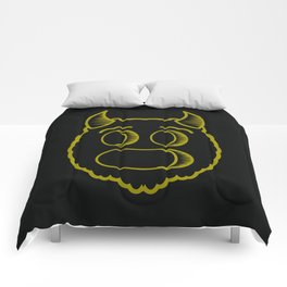 Monster head Comforters