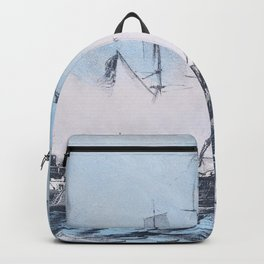 Nathaniel Currier - The Constitution and Guerriere - Digital Remastered Edition Backpack